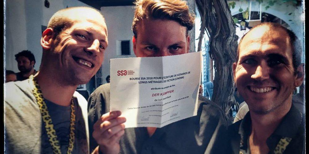 Juri Steinhart erhält SSA Stipendium