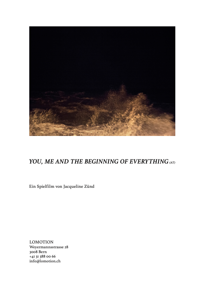 YOU, ME AND THE BEGINNING OF EVERYTHING (AT)