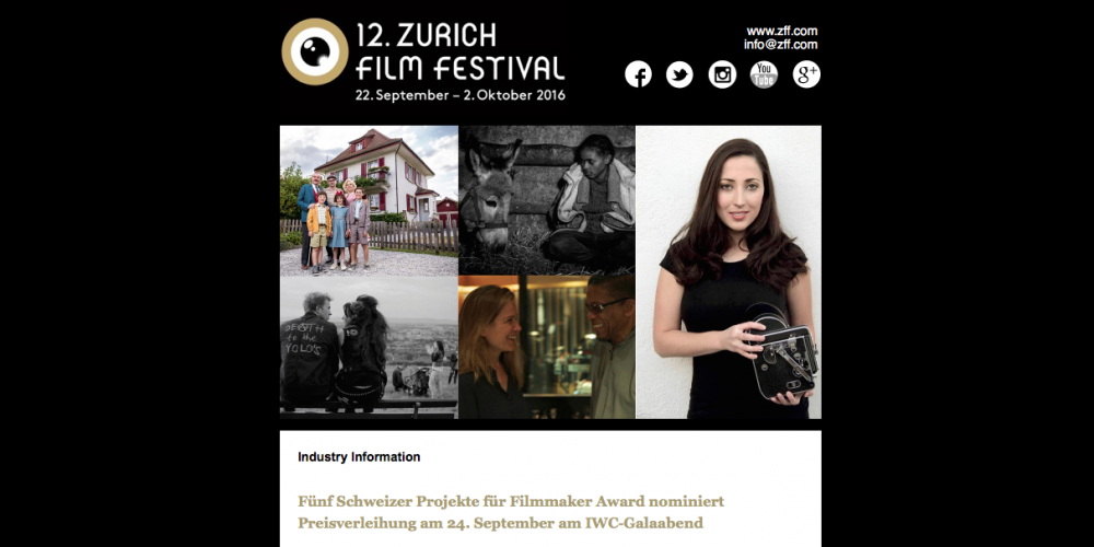 «Lasst die Alten sterben» von Juri Steinhart für den Filmmaker Award nominiert