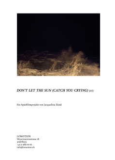 Don't Let the Sun (Catch You Crying) (AT)